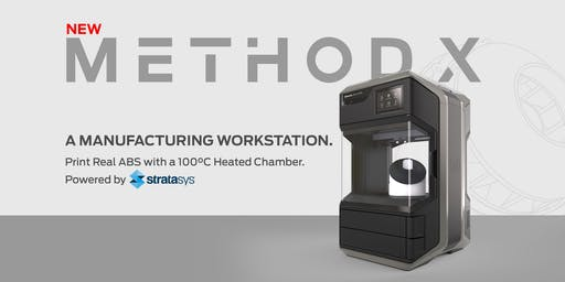 "MakerBot Method X ""True ABS"" Launch at the TCT Show Birmingham - Stand E100"