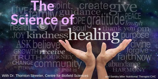 "THE SCIENCE OF HEALING - A peek into the human ENERGY FIELD with ""Digital Clairvoyance"""