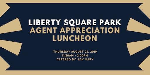 Liberty Square Park Agent Appreciation Luncheon