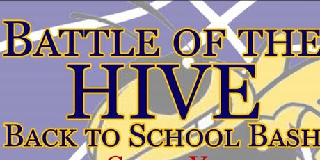BATTLE OF THE HIVE: Back to School 3 on 3 Bash tickets