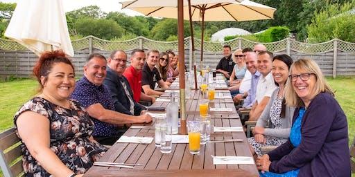 11 October - Power Lunch at Penventon Park Hotel, Redruth