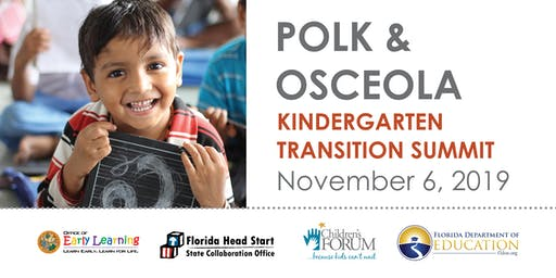 Polk & Osceola Kindergarten Transition Summit