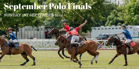 September Polo Finals 2019 tickets