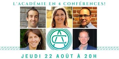 Conférences Trois-Rivières  billets