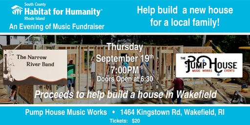 Habitat for Humanity  Home Construction Fundraiser- Wakefield House