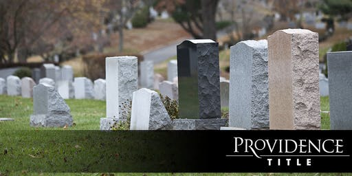Dead or Gone: Deal with Death and Divorce in a RE Transaction (Course #33108 | 1 CE Hour)