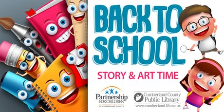 Back to School themed Story & Art Time tickets