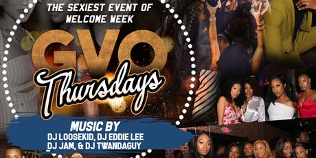GVO Thursdays Welcome Week Kickoff tickets