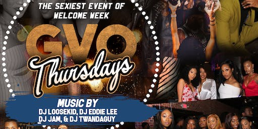 GVO Thursdays Welcome Week Kickoff