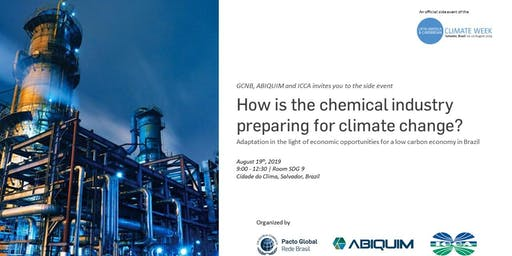 How is the chemical industry preparing for climate change?  - LACCW