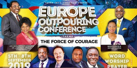 Europe Outpouring Conference 2019 tickets