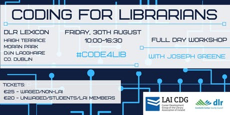 Coding for Librarians tickets