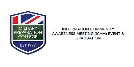 Information Community Awareness Meeting (ICAM) & Graduation Event -MPC Newcastle  tickets