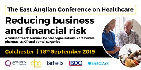 The East Anglian Conference on Healthcare - Colchester tickets