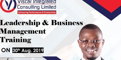 LEADERSHIP & BUSINESS MANAGEMENT TRAINING tickets