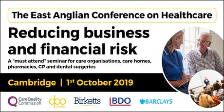 The East Anglian Conference on Healthcare - Cambridge tickets