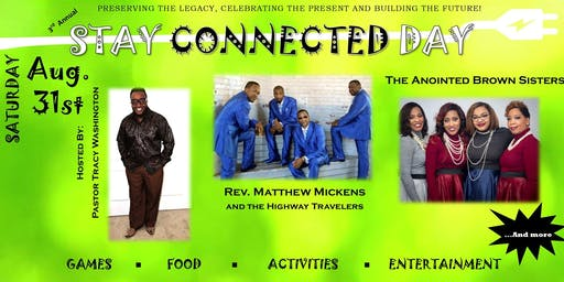 3rd Annual Stay Connected Day