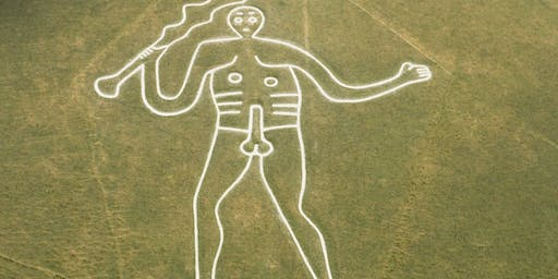 Cerne Abbas Rechalking the Giant