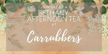 Bethany Afternoon Tea tickets