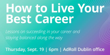 How to Live your best Career tickets