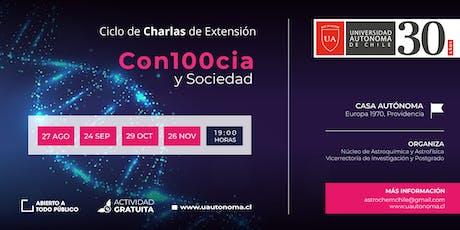 Ciclo de Charlas Con100cia y Sociedad. Tema: Vacunas y redes sociales. entradas