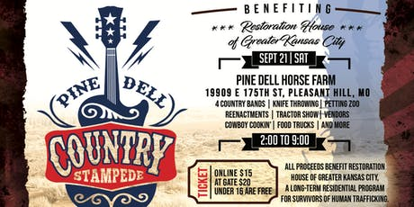 Pine Dell Country Stampede tickets