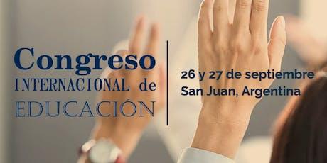 Congreso Internacional de Educación San Juan 2019 entradas