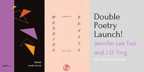 Double Poetry Launch! Jennifer Lee Tsai and Jay G Ying  tickets