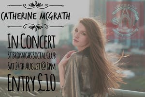 Catherine McGrath In Concert