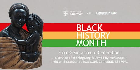 From Generation to Generation: Celebrating BAME women in ministry tickets