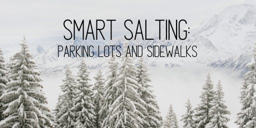 Winter Parking Lot and Sidewalk Maintenance Workshop