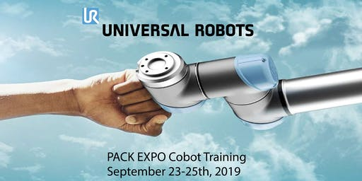 Universal Robots Cobot Training at Pack Expo