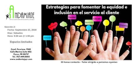 Estrategias para fomentar la equidad e inclusión en el servicio al cliente tickets