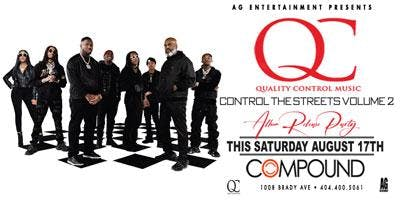 AG Entertainment Presents: QC Music's Control The Streets Volume 2 Album Release Party