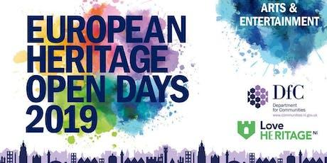 European Heritage Open Days tickets