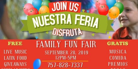 FREE -2019 Nuestra Feria - Our Fair tickets