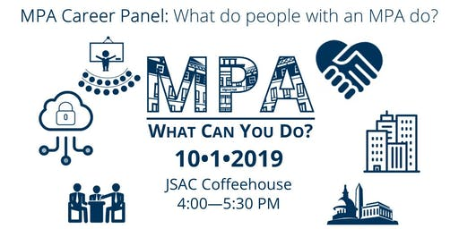 MPA: What Can You Do? Career Panel 2019