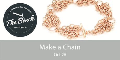 Make a Chain - Jewelry Workshop tickets