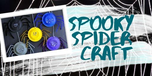 Spooky Spider Craft