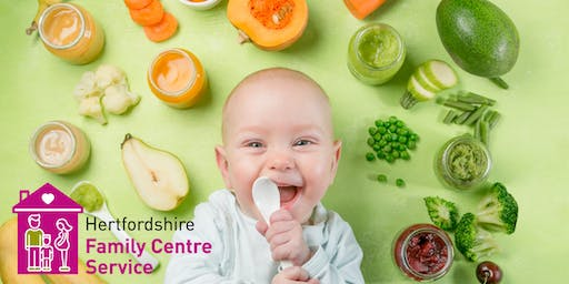 Introduction to Solid Foods - Hertford Selections Family Centre - 13/09/2019 - 11.30-13.00