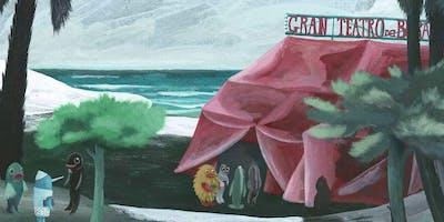 Un Pinocchio acquatico e notturno | incontro con l'illustratore Luca Caimmi