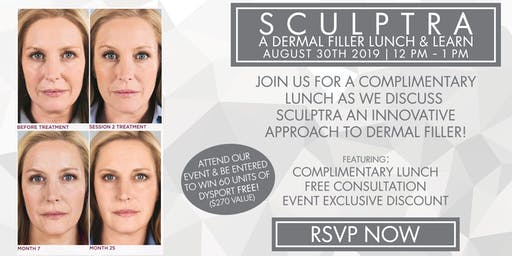 Sanova Dermatology - Baton Rouge | Sculptra Lunch & Learn Event