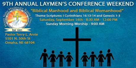 9th Annual Laymen's Conference tickets
