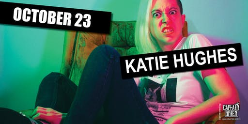 Comedian katie Hughes Live In Naples, FL Off the hook comedy club