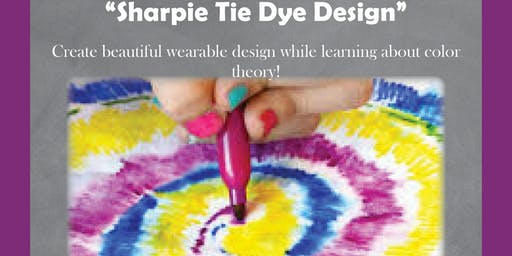 STEAM Saturday: Sharpie Tie Dye Design