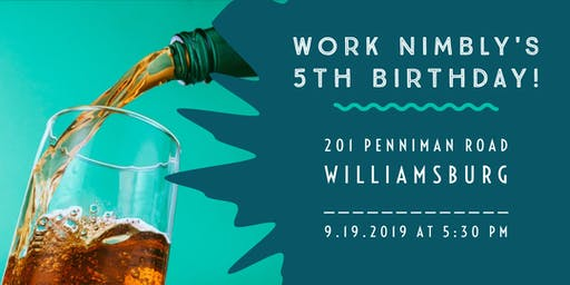Work Nimbly's 5th Birthday Party