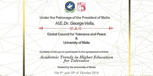 Academic Trends in Higher Education for Tolerance