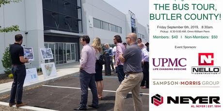 NAIOP Pittsburgh DL's Host: The Bus Tour, Butler County! tickets