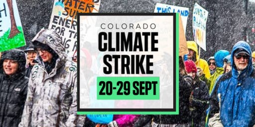 Colorado Climate Strike - Denver