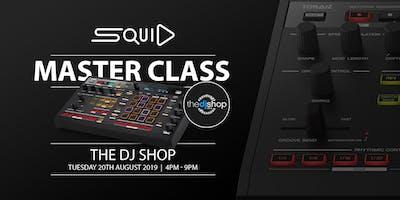 PIONEER DJ DROP-IN SESSION & TORAIZ SQUID MASTERCLASS